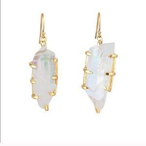 VM x FLL Clear Crystal Aura Earrings